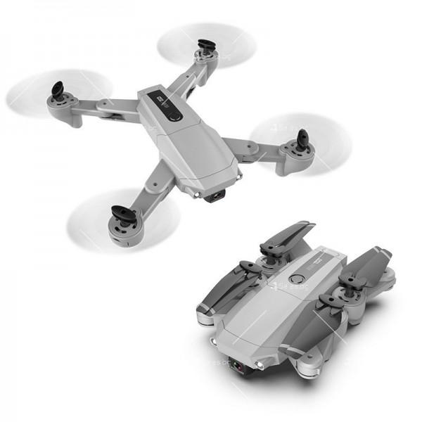 Мини сгъваем дрон 5G радиоуправляем режим и 4K HD камера-DRON H8 (5G+GPS+4K+BAG)