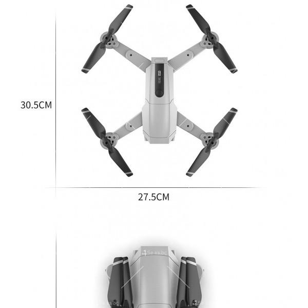 Мини сгъваем дрон 5G радиоуправляем режим и 4K HD камера-DRON H8 (5G+GPS+4K+BAG) 8