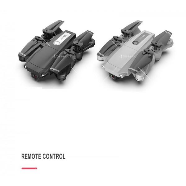 Мини сгъваем дрон 5G радиоуправляем режим и 4K HD камера-DRON H8 (5G+GPS+4K+BAG) 12