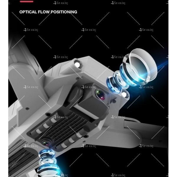 Мини сгъваем дрон 5G радиоуправляем режим и 4K HD камера-DRON H8 (5G+GPS+4K+BAG) 13