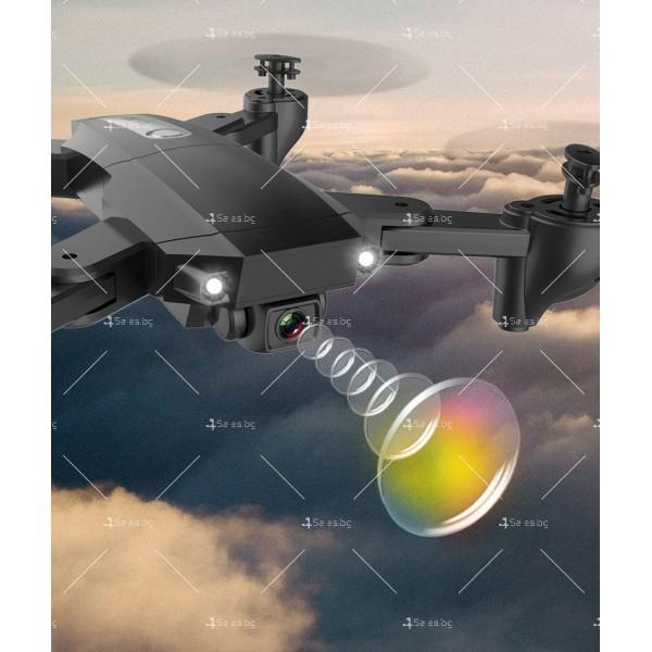 Мини сгъваем дрон 5G радиоуправляем режим и 4K HD камера-DRON H8 (5G+GPS+4K+BAG) 15