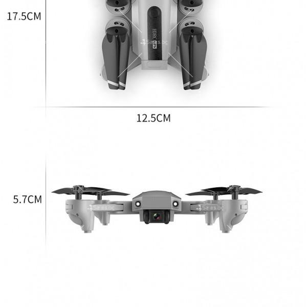 Мини сгъваем дрон 5G радиоуправляем режим и 4K HD камера-DRON H8 (5G+GPS+4K+BAG) 18
