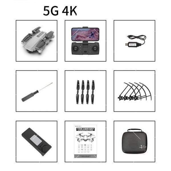 Мини сгъваем дрон 5G радиоуправляем режим и 4K HD камера-DRON H8 (5G+GPS+4K+BAG) 20