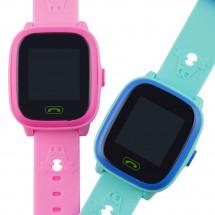 Детски водоустойчив смарт часовник HW8 с голям дисплей и вграден GPS