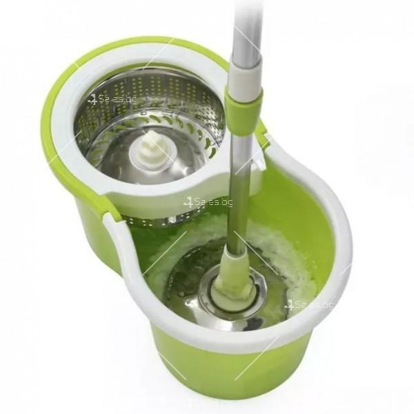 Моп за почистване на под - ламинат - spin mop 360 17