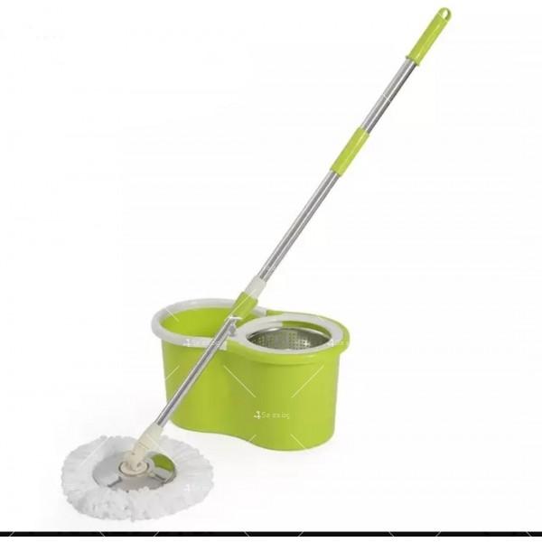 Моп за почистване на под - ламинат - spin mop 360 18