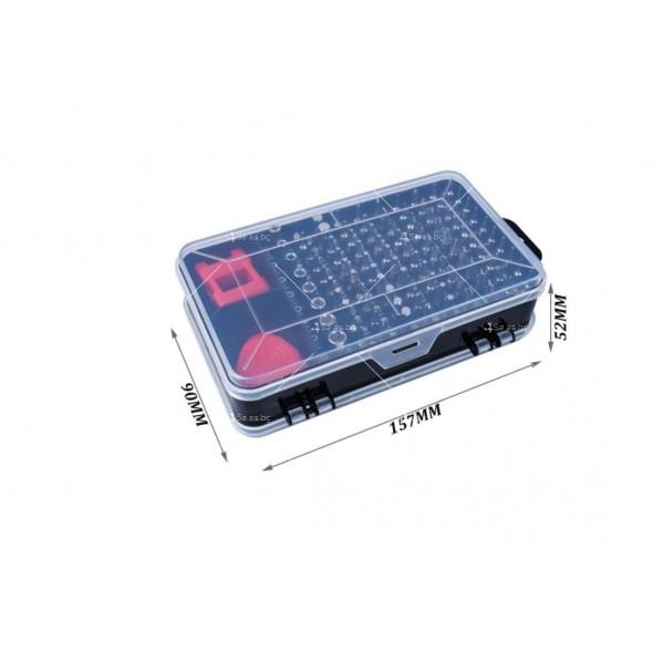 Комплект с многофункционални ръчни инструменти/отвертки 110 в 1 - GSM TOOL4 4