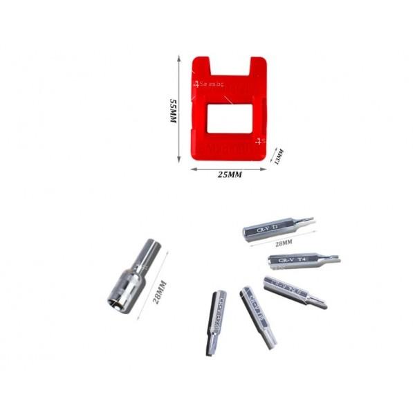 Комплект с многофункционални ръчни инструменти/отвертки 110 в 1 - GSM TOOL4 9