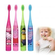 Детска електрическа ултразвукова четка за зъби + допълнителен накрайник TV636