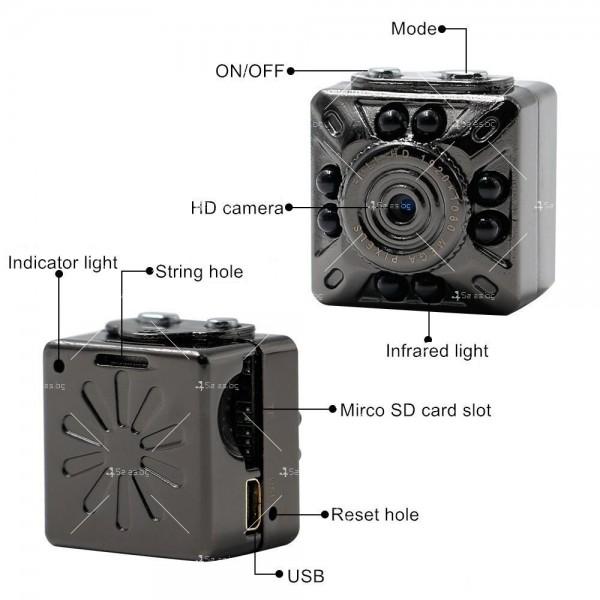 Full HD мини-камера SQ10 mini DV 8
