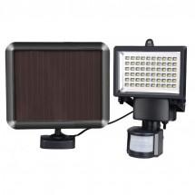 Соларен градински прожектор 60 LED и сензор за движение - H LED12