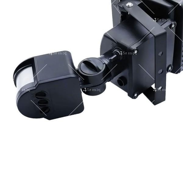 Соларен градински прожектор 60 LED и сензор за движение - H LED12 10