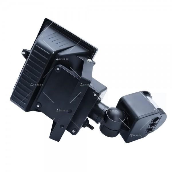 Соларен градински прожектор 60 LED и сензор за движение - H LED12 8