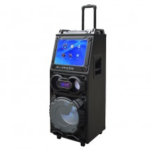 Преносима караоке колона с DJ пулт, LED осветление и функционален дисплей