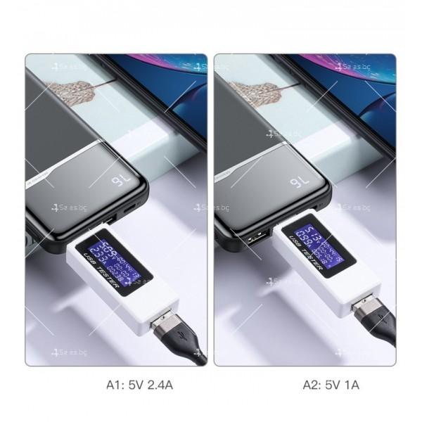 Ултра тънко преносимо зарядно устройство KUULAA power bank 10000mAh - TV500 4