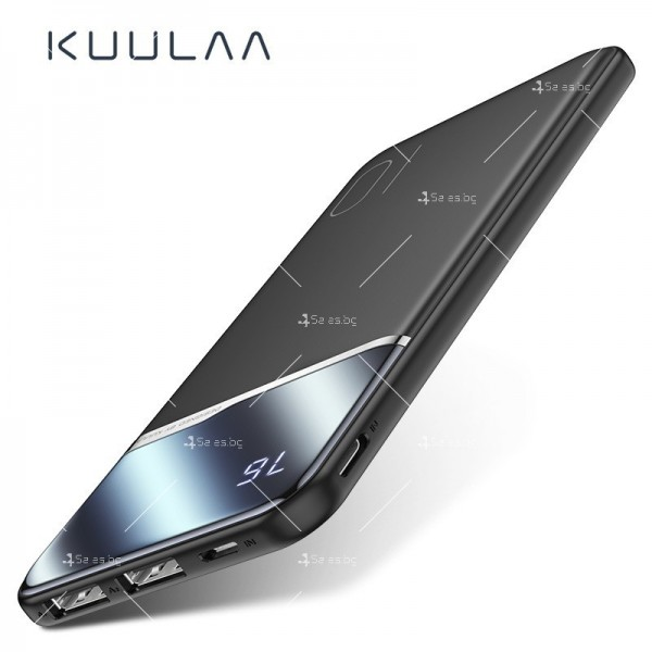 Ултра тънко преносимо зарядно устройство KUULAA power bank 10000mAh - TV500 6