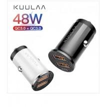 Зарядно устройство за кола с двоен USB порт kuulaa - CA117