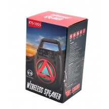 Колонка KTS-1055, акумулатор, МP3, SD карта, Флашка, Bluetooth