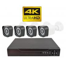 Система за видеонаблюдение E'CH CCTV 4K Ultra HD