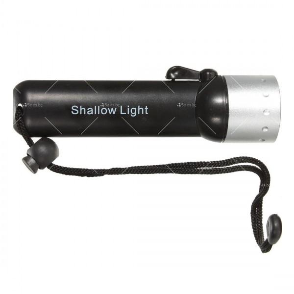 Фенер за водолази с издръжливост до 50 метра дълбочина FL73 26