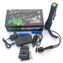 Увеличаващо фенерче XBalog P50 с презареждаща се батерия Oppladbar Lommelykt FL77