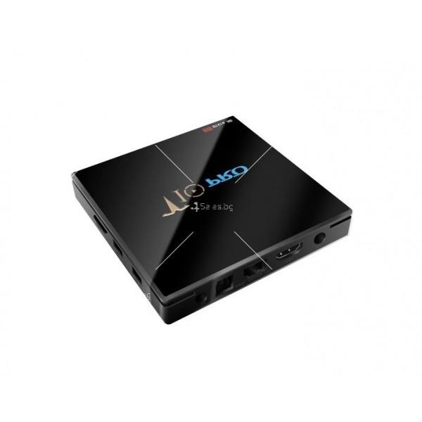 ТВ бокс T10 PRO Amlogic S905X2 с Android 8.1, LED дисплей, 4K, 4GB 8