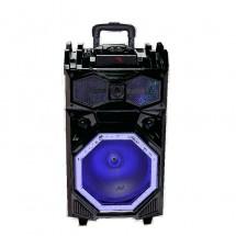 Комплект акумулаторна караоке тонколона 15 инча + SD карта