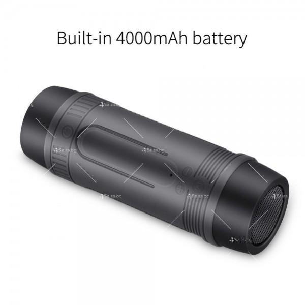 ZEALOT S1 Преносим водоустойчив Bluetooth високоговорител, фенер, Music Player 17