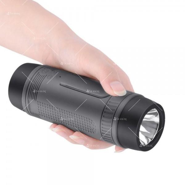 ZEALOT S1 Преносим водоустойчив Bluetooth високоговорител, фенер, Music Player 10