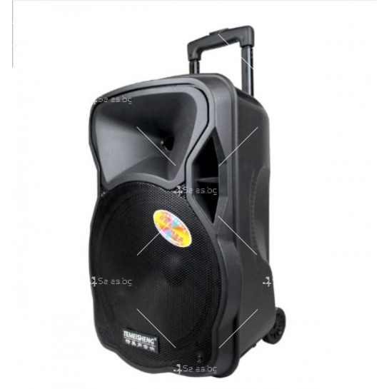 Temeisheng A12 12 Inch Subwoofer Portable Bluetooth Speaker със стойка