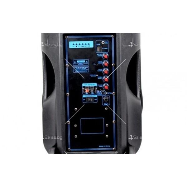Temeisheng A12 12 Inch Subwoofer Portable Bluetooth Speaker със стойка 5