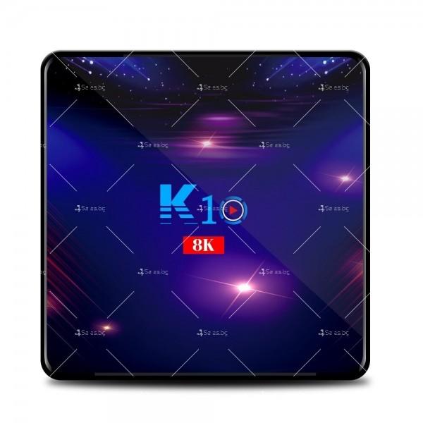 Смарт ТВ бокс K10 TV BOX Android 8K, 32GB, WiFi и Bluetooth 2