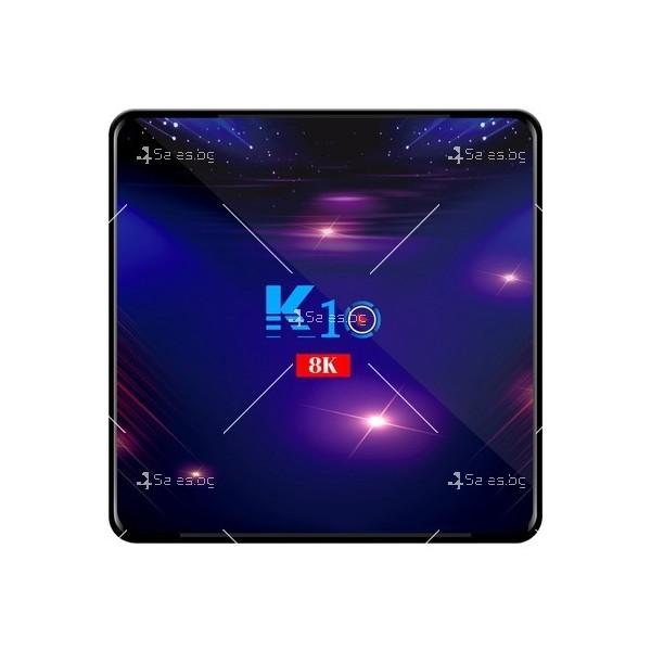 Смарт ТВ бокс K10 TV BOX Android 8K, 32GB, WiFi и Bluetooth 9