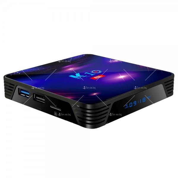 Смарт ТВ бокс K10 TV BOX Android 8K, 32GB, WiFi и Bluetooth 12
