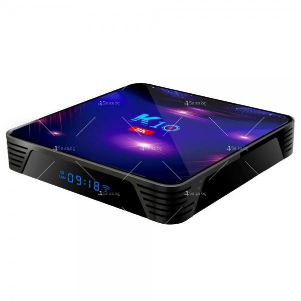 Смарт ТВ бокс K10 TV BOX Android 8K, 32GB, WiFi и Bluetooth 14