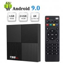 Мини ТВ бокс Smart TV BOX T95 mini, 4GB + 64GB