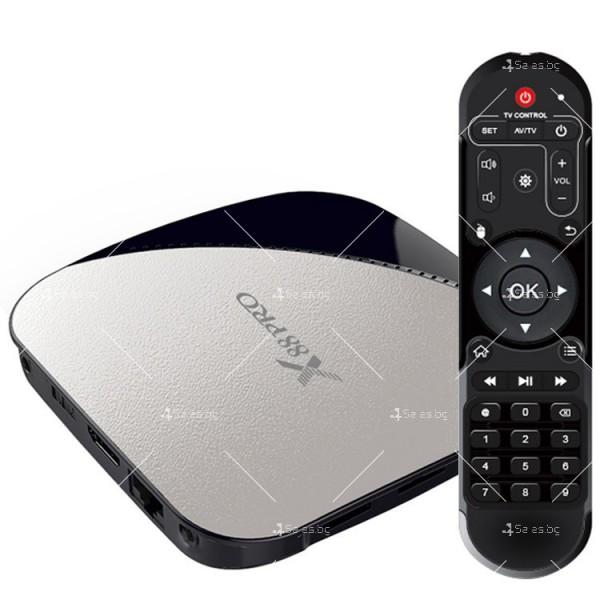 Иновативен Smart TV Box X88 Pro Android 9.0 2