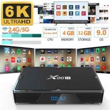 Мощен ТВ Бокс X96H с 6K, Android 9.0, 4GB + 32GB