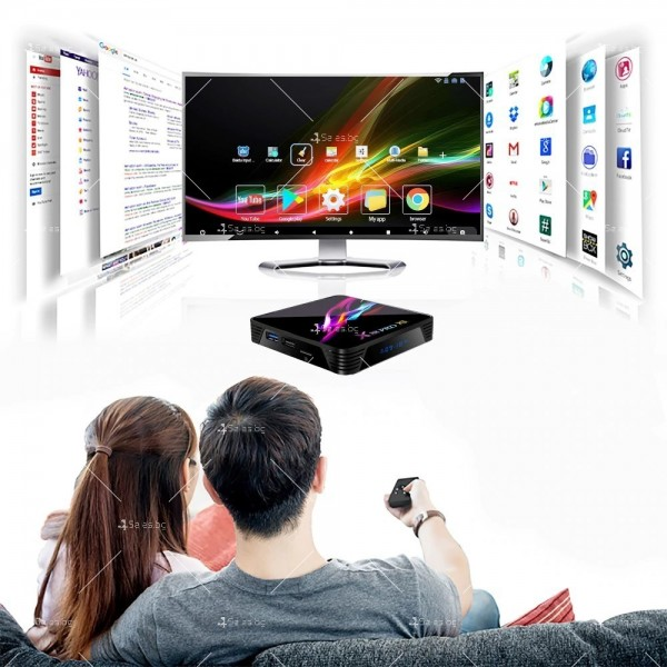 Невероятен ТВ Бокс X88 PRO X3 Amlogic S905x3 4GB / 32GB 8K видео 7