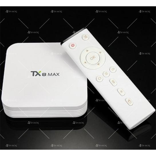 Малък смарт ТВ Бокс TX8 MAX Android 6.0