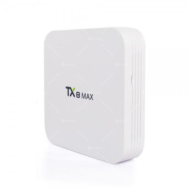 Малък смарт ТВ Бокс TX8 MAX Android 6.0 3