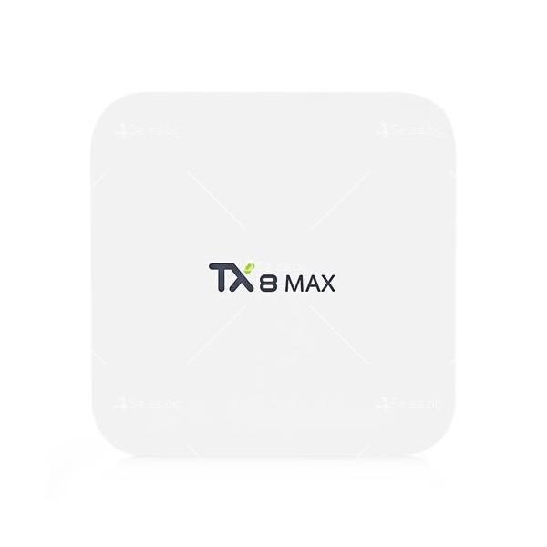 Малък смарт ТВ Бокс TX8 MAX Android 6.0 10