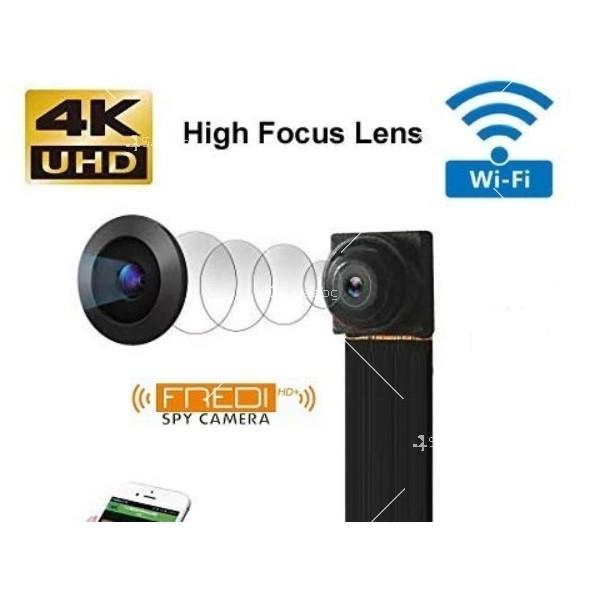 Wi Fi мини скрита камера с Full HD 4K качество на образа и антена V 89 IP13 2