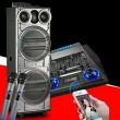 Тонколона с двоен 12-инчов бас Hi-Fi звукова система супер бас 2