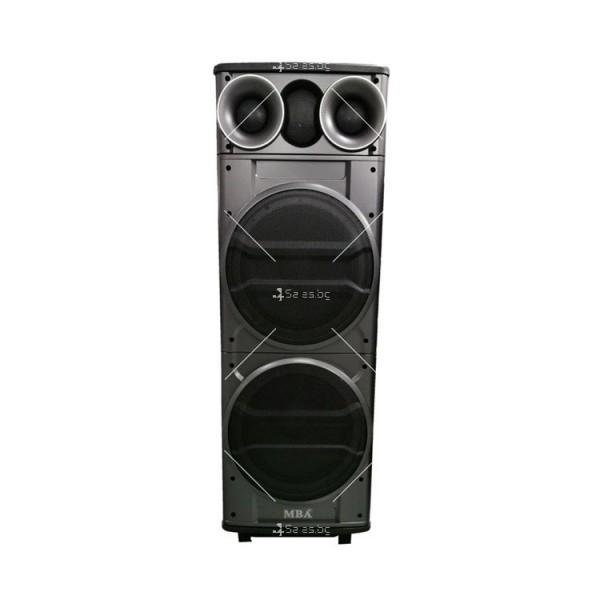 Тонколона с двоен 12-инчов бас Hi-Fi звукова система супер бас 6
