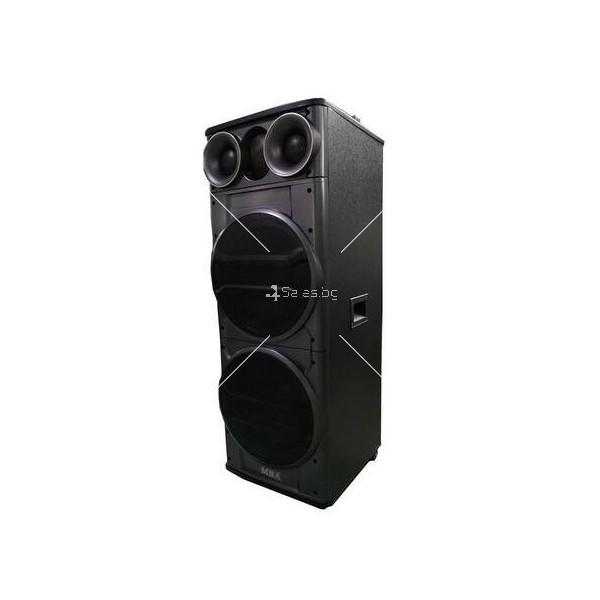 Тонколона с двоен 12-инчов бас Hi-Fi звукова система супер бас 7