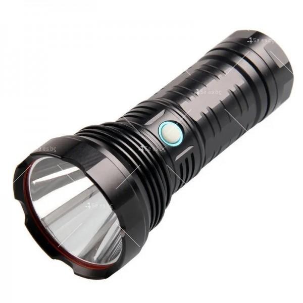 Ултра ярък и мощен LED фенер 50W Luminus SST40 FL72