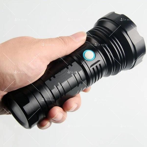Ултра ярък и мощен LED фенер 50W Luminus SST40 FL72 7