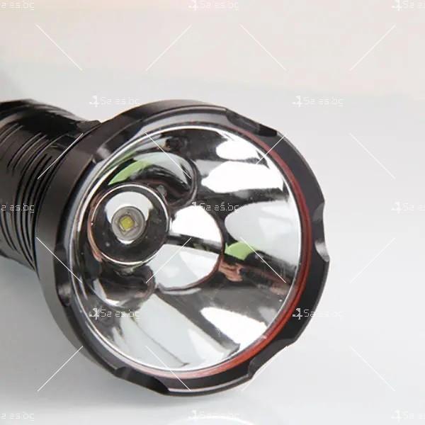 Ултра ярък и мощен LED фенер 50W Luminus SST40 FL72 8
