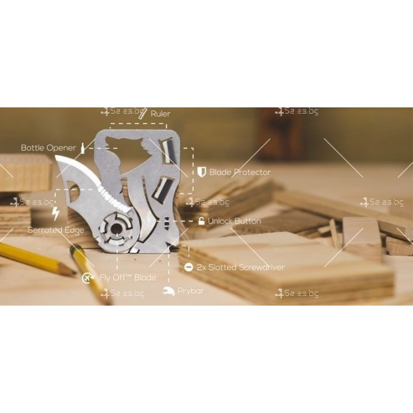 Многофункционален инструмент 9 в 1 TV473 7